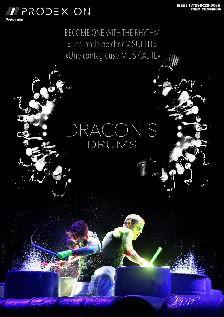 affiche prodexion/draconis shows
